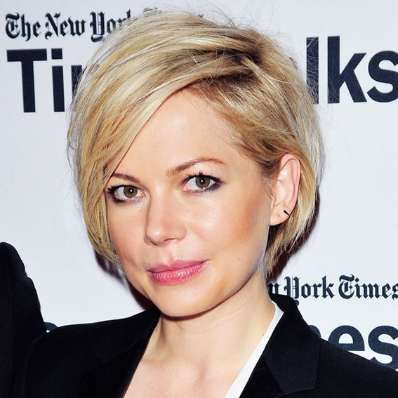 Spring's Sexiest Hairstyles - Michelle Williams' Grown-Out Pixie from #InStyle