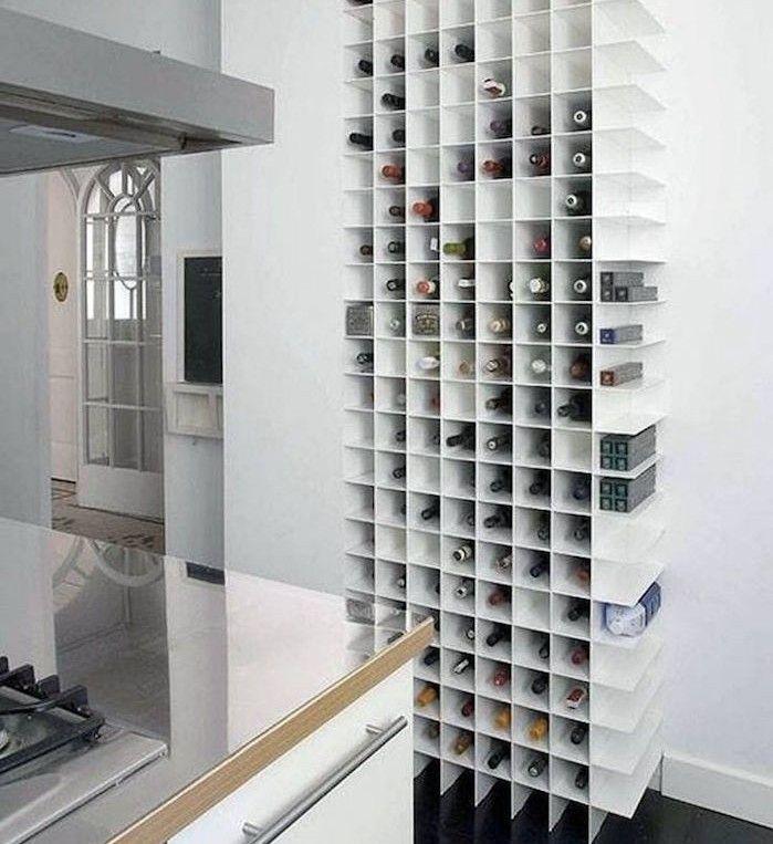acheter etagere cuisine design support bouteille rangement vaisselle meuble style scandinave meubles moderne designer placard à bouteilles