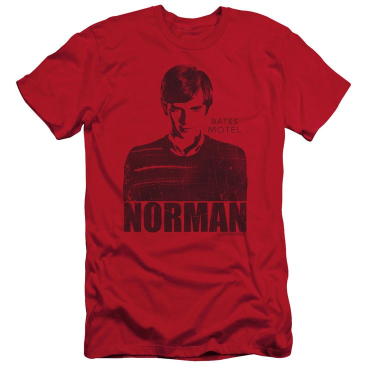 Bate's Motel: Norman Slim Fit T-Shirt