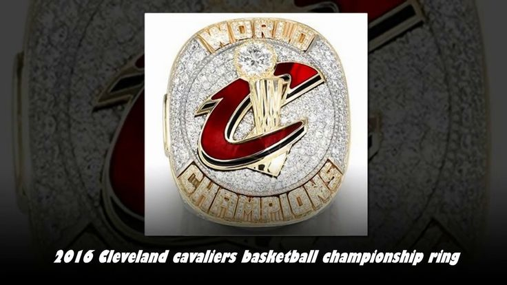 Cleveland Cavaliers (2016) Replica Lebron James Championship Cavs Ring