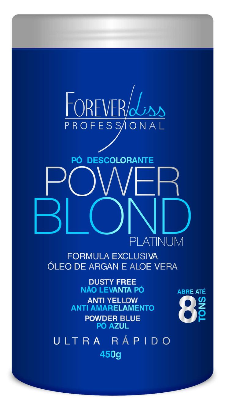 Forever Liss Pó Descolorante Power Blond 450gr