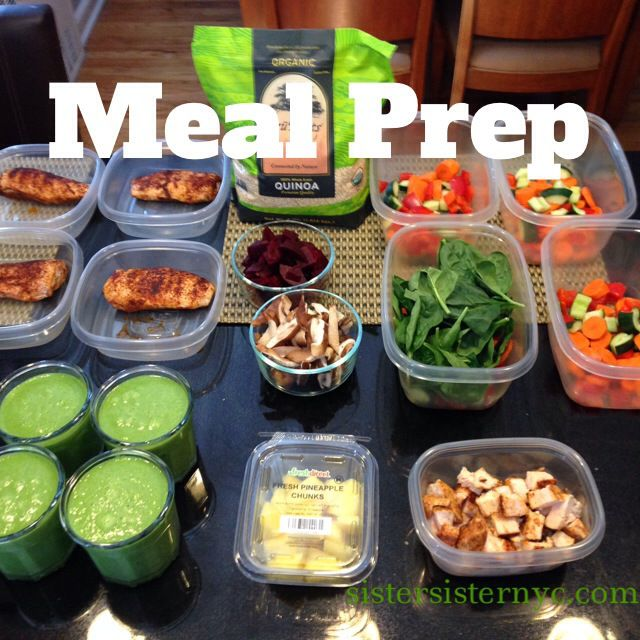 Take one day a week and get all of your meals ready for the week. This way there are no #excuses for not #eatinghealthy - Meal Prep