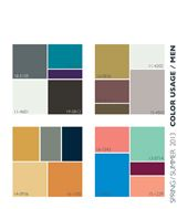 Shades of #gray. The hue is showing up in a big way in #fashion for 2013. It is a great corporate neutral that works within most brand logo guidelines.