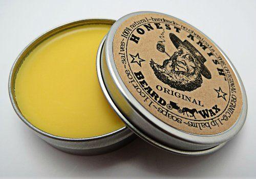 Honest Amish Original Beard Wax - All Natural and Organic - http://www.specialdaysgift.com/honest-amish-original-beard-wax-all-natural-and-organic/