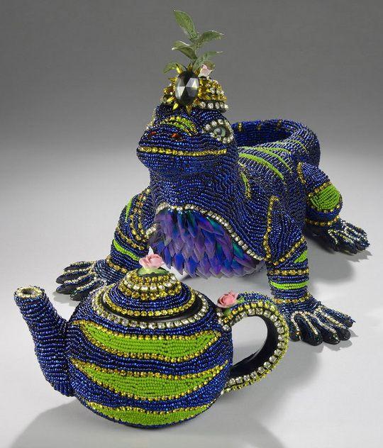Wonderful beads art by Nancy Josephson