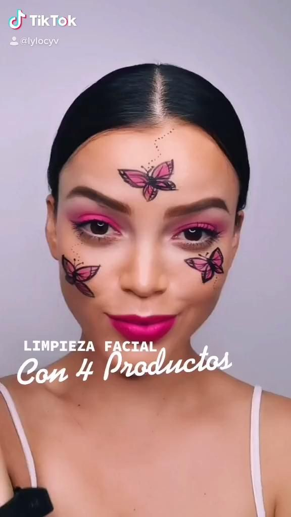 Skincare, limpieza facial con 4 productos, limpieza del rostro. Product Photography, Halloween Face Makeup, Skincare, Make Up, Baby, Clean Face, Contouring, Face Cleaning, Beauty Tips