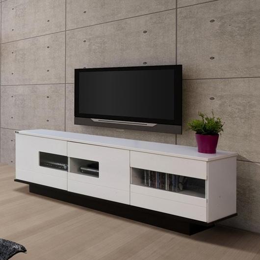 Emporium Home Waverley White Gloss Coffee Table: White Gloss Door Waverley Lowline TV Unit