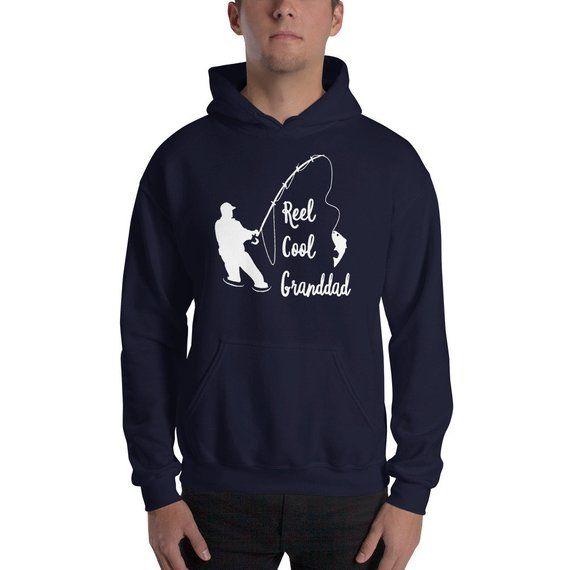 Hoodies Father/'s Day Funny Gift Men/'s Hoody Fisherman FISHING GRANDAD
