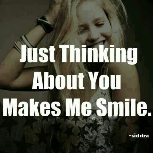 Thank You For Making Me Smile Everyday Quotes: You Make Me Smile Quotes. QuotesGram
