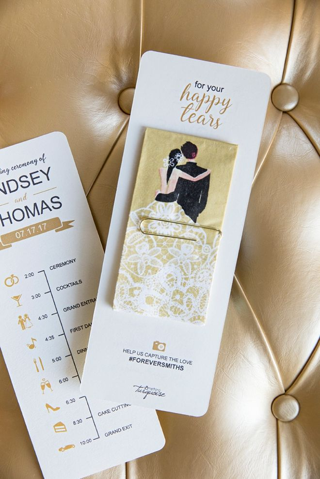 15 Fabulous Unique Wedding Program Ideas