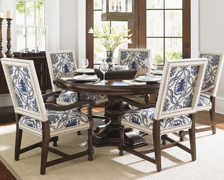 Superior Kilimanjaro Six Pc Maracaibo Table And Cape Verde Ch Set By Tommy Bahama  Home Nice Design