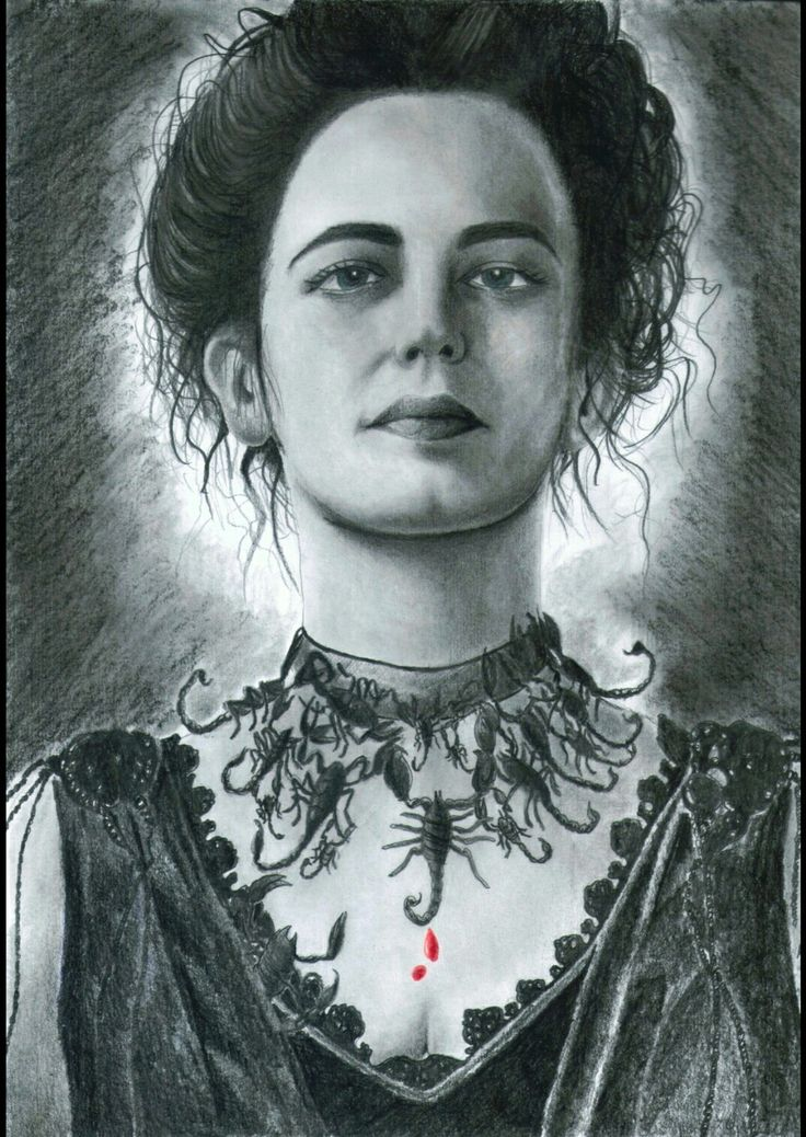 Eva Green as Vanessa Ives-Penny Dreadful   Art by: A.J Walker
