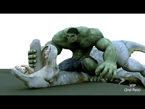 CGI 3D Showreel HD: Character Animation Reel by Dhanu - YouTube