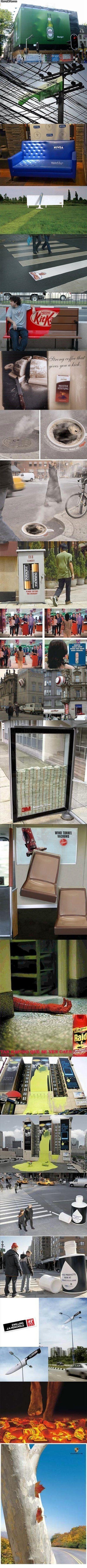 Creative advertisments