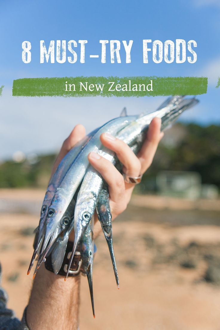 New Zealand Foods: Dishes, snacks, and full-meals you HAVE to try while visiting New Zealand!