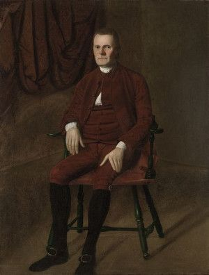 Roger Sherman was a self-made American politician, a Connecticut delegate to the second Continental Congress, and the only man to sign all four of the great American documents: the Declaration of Independence, the Articles of Association, the Articles of Confederation, and the United States Constitution. Read more at Revolutionary-War.net!