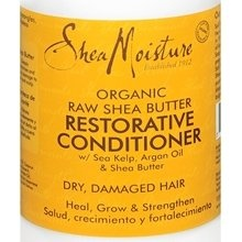 Shea Moisture Conditioner  This stuff works wonders.  I get excited just thinking about it.