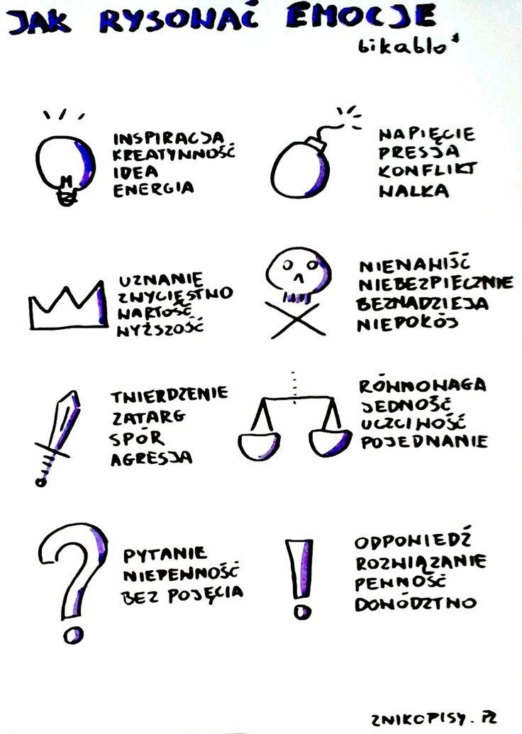 Jak narysować emocje