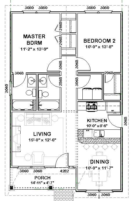 Plan Bonnie- Stock House Plan