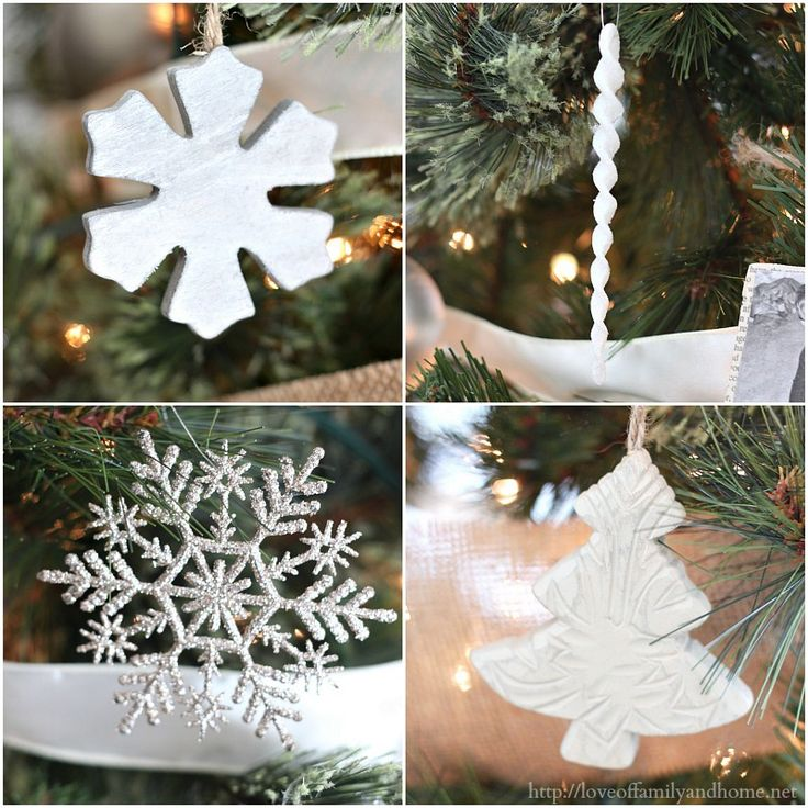 Rustic Glam Christmas Tree Collage 2