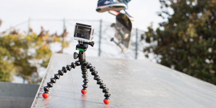 GorillaPod Action Tripod for GoPro®,  POV cameras, action cameras, compact system cameras