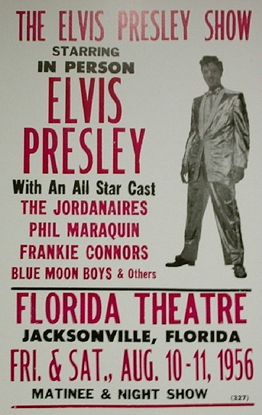 1956 show in Florida