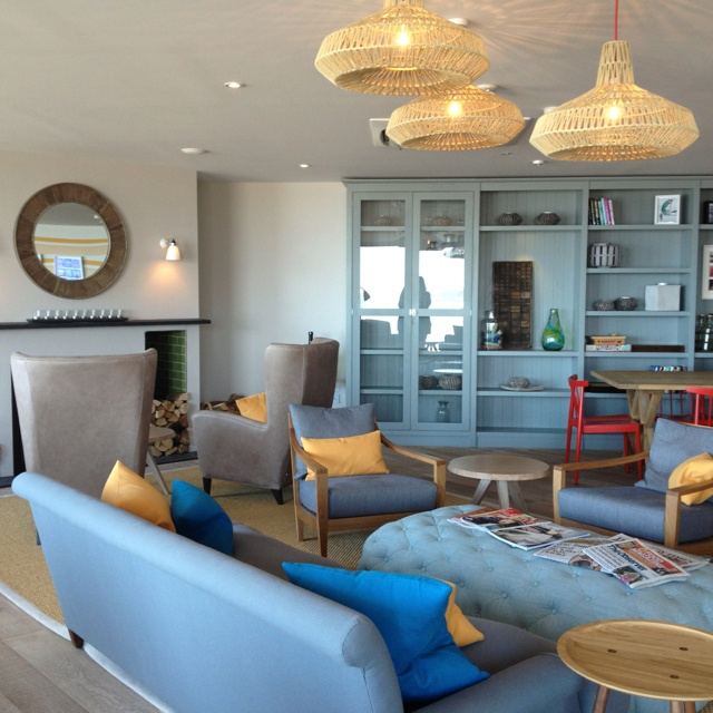 Watergate Bay Hotel, Newquay. By Household Design #fillyourstocking