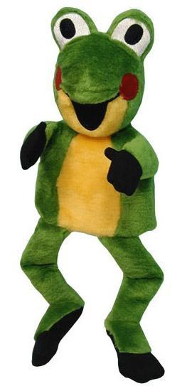 Plyšová Žabka - maňásek (Krtkovi kamarádi) (37 cm)