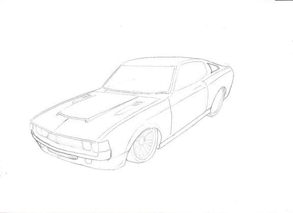 corolla coloring pages | 20 best Super cars coloring pages images on Pinterest ...