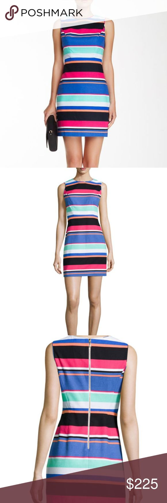 """NWT Kate Spade stripe cocktail dress size US 6 Bust: 35"""" Waist: 28"""" Hip: 35"""" Length: 33.75""""  New with tags.  No trades.  Perfect for spring/summer, work and parties. kate spade Dresses Mini"""