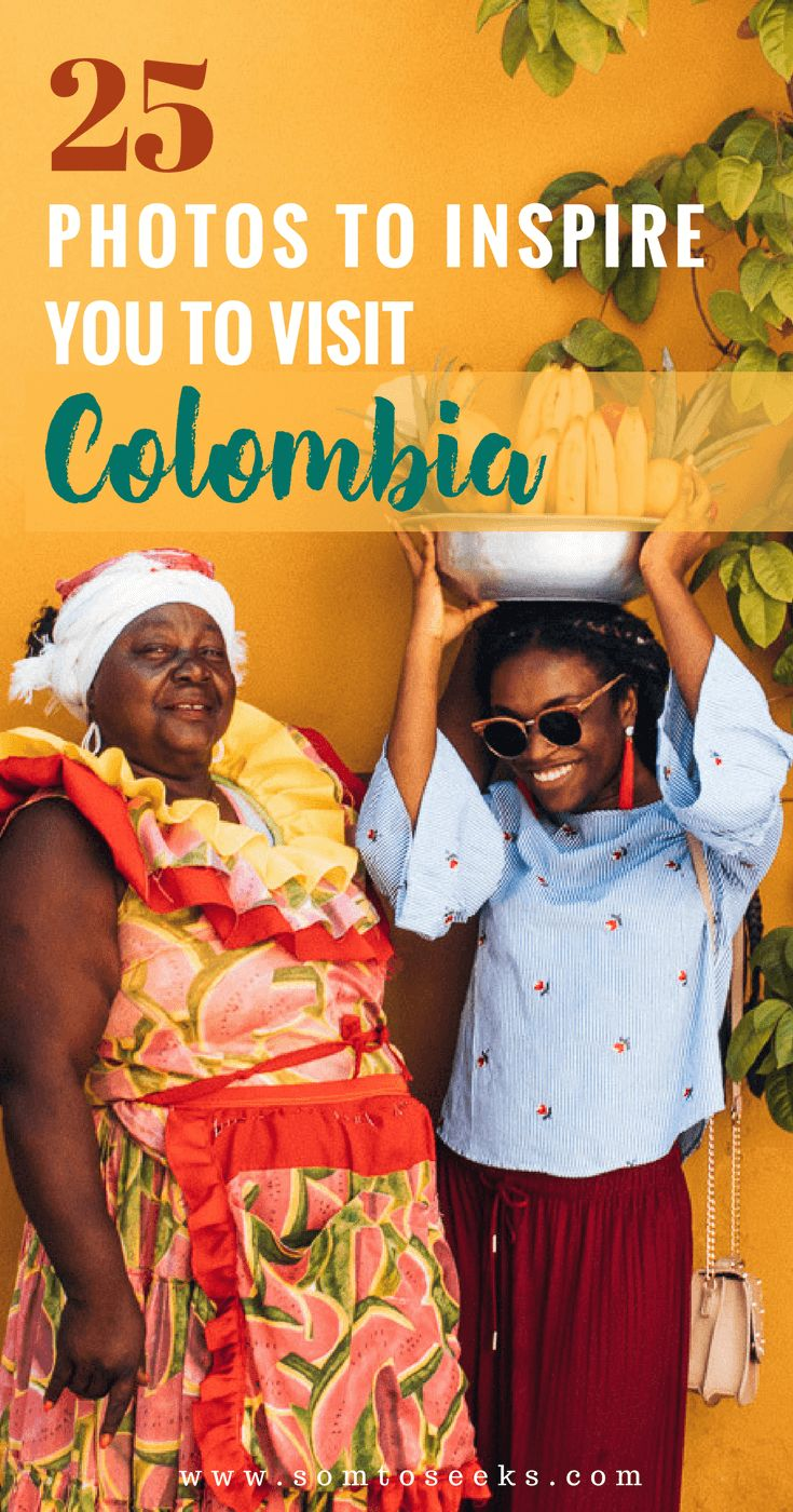 Colombia travel bucket list - 25 photos to inspire you to visit Colombia.  Colombia is one of the most beautiful countries in South America.  I visited Cali and Cartagena and encountered warm people, delicious food, and colorful architecture. After looking through these travel photos, you will see just how incredible Colombia is!