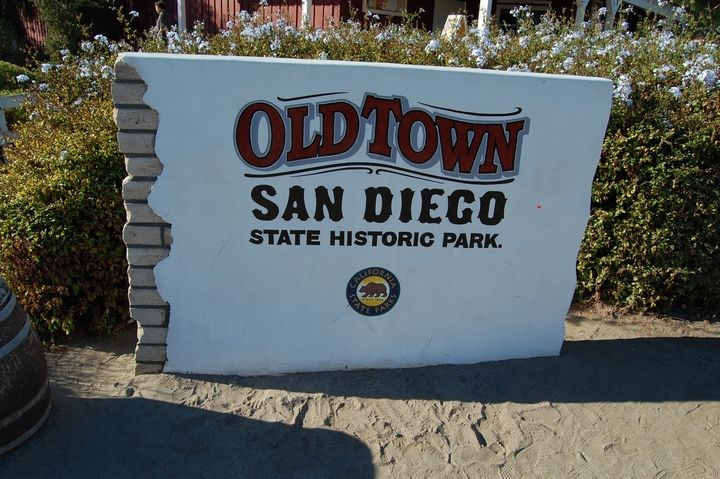 Old Town San Diego State Historic Park, located in the Old Town neighborhood of San Diego, California, is a state protected historical park in San Diego.
