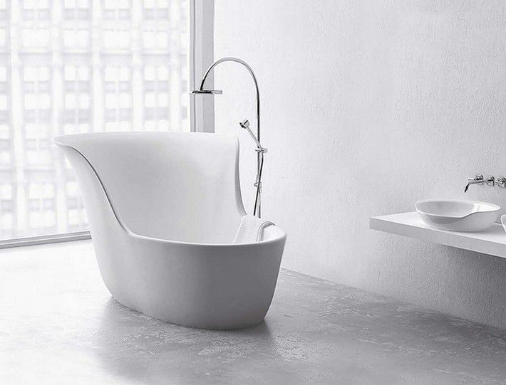 We have to admit that all things in mini format has a charm in every detail. So be sure to check out these Mini Bathtub Ideas for Small Bathrooms ‪#‎minibathtub‬ ‪#‎smallbathrooms‬