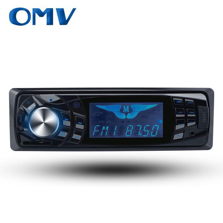 Hot Sales 1 Din Car MP3 Player Car Stereo Audio Single Din In-dash FM Radio Bluetooth USB SD MMC Aux In Car Audio MP3 Player