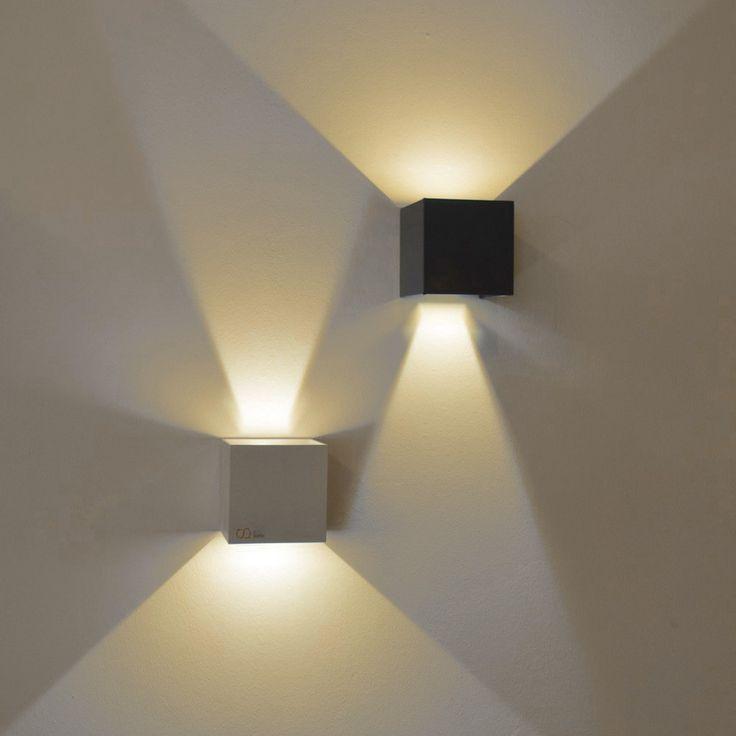 Die besten 25+ Led wandleuchten Ideen auf Pinterest - wohnzimmer deckenlampe led
