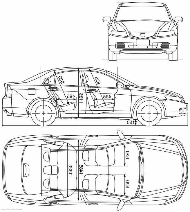 Honda Accord Dimensions