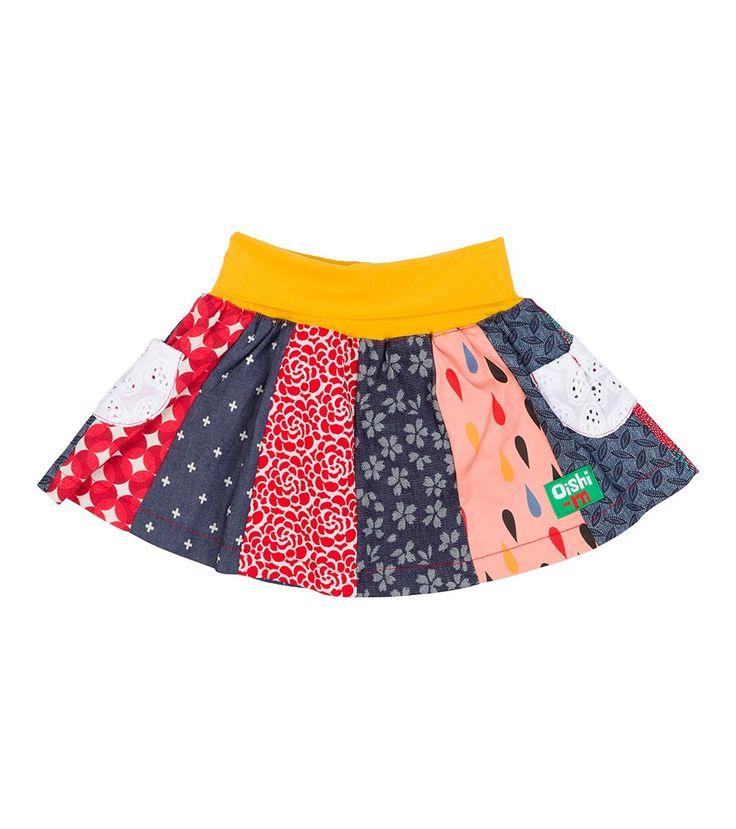 Muriel 12 Panel Skirt, Oishi-m Clothing for kids, Autumn 2016, www.oishi-m.com