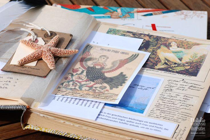 Морская звезда на этикетке. Можно использовать для Гостевой книги отеля