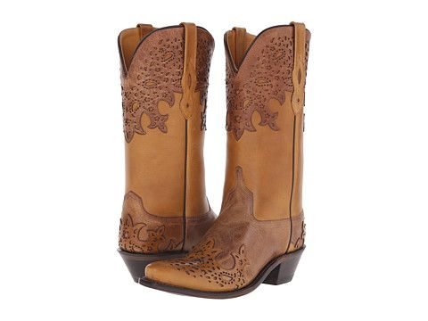 Old West Boots LF1540 Tan Fry/Light Tan - Zappos.com Free Shipping BOTH Ways