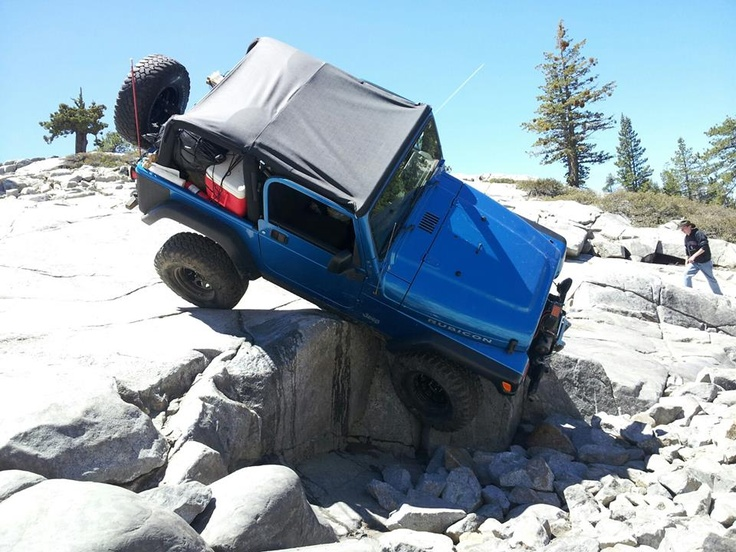 Watch that first step. it's a doozy. | Jeep Oops Moments | Pinterest | Rubicon trail, Jeeps and ...