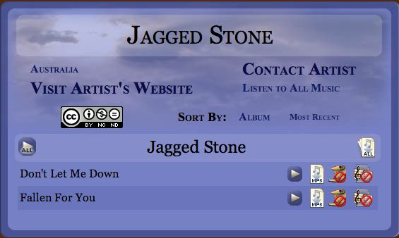 http://www.godlychristianmusic.com/Music_Artist_Details.aspx?id=147&groups=0&name=Jagged%20Stone  We're Everywhere =]