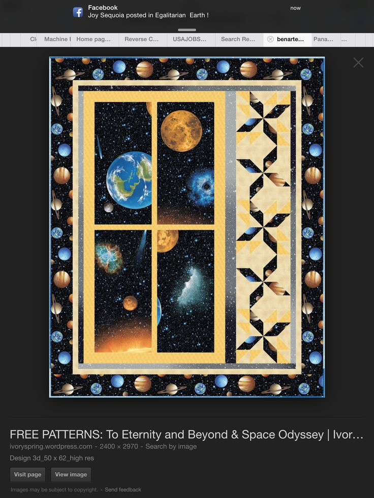 122 best images about space quilts and ideas for on pinterest for Solar system quilt pattern