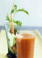 Energiebom. Een vitaminebom! groente en fruitsap