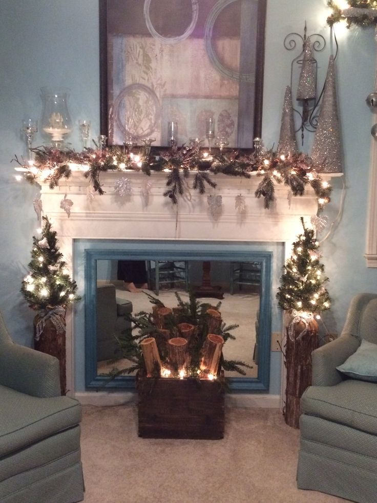 17 Best Images About Fake Fireplace Mantles On Pinterest