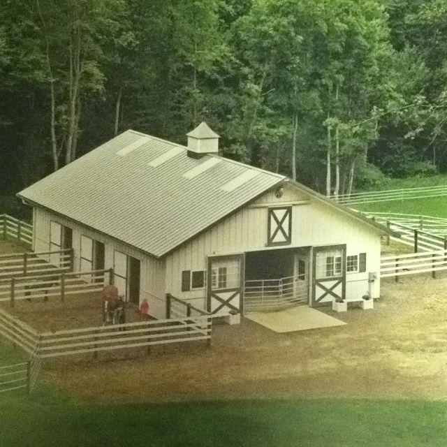 Must have runs/paddocks... Love this barn :)