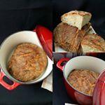 Paine taraneasca cu cartofi fara framantare foodinsta backery breakfast food Link in Bio