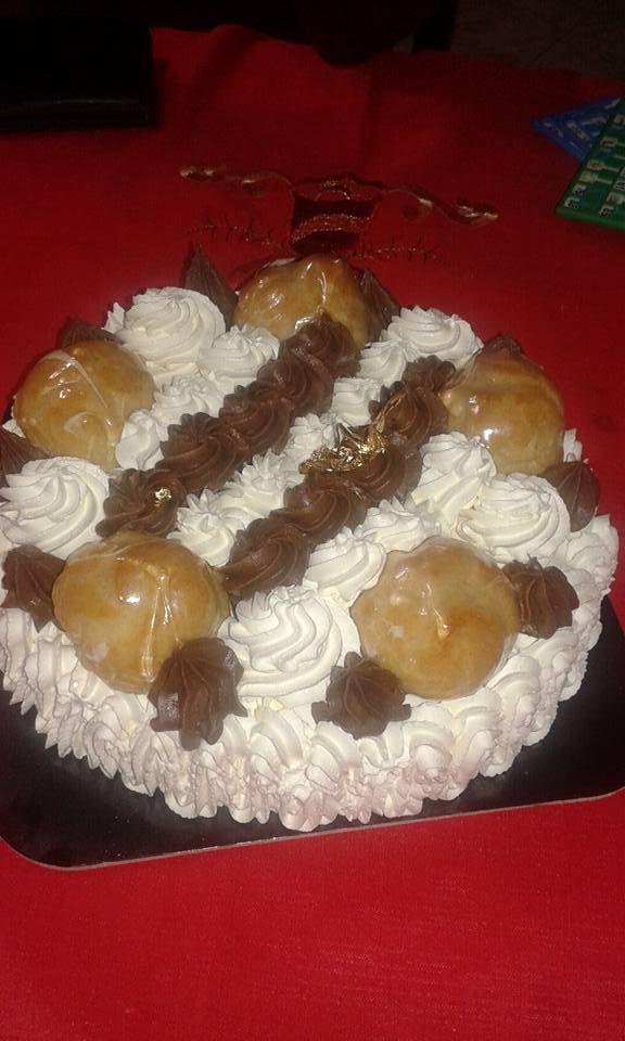 Saint Honoré ice cake