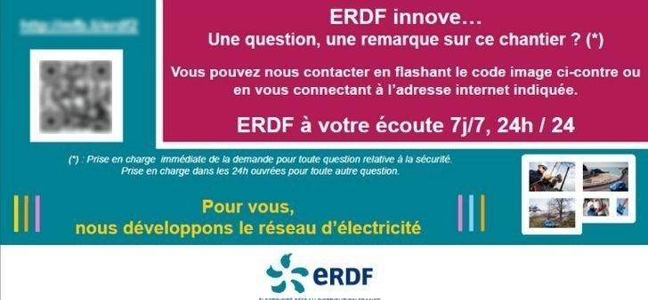 Affichage : ERDF teste le pilotage numérique des chantiers