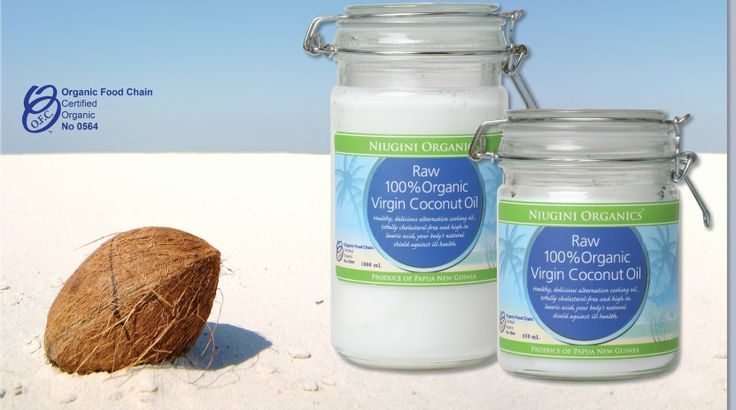 100% Raw Virgin Certified Organic Coconut Oil from Papua New Guinea - Wild harvested, Unrefined, Unbleached and free from fertilizers and pesticides