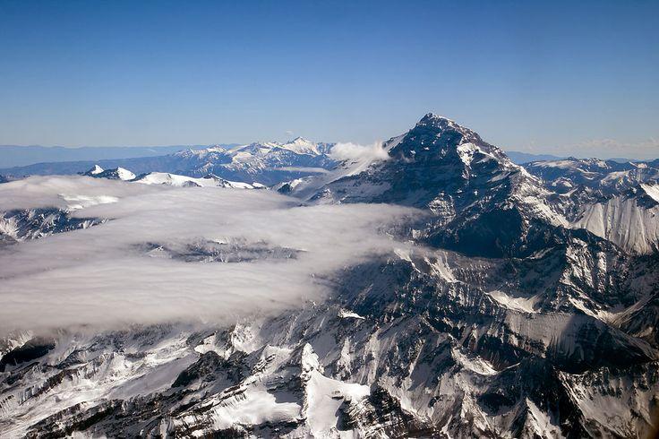 Aconcagua fjell - Argentina – Wikipédia, a enciclopédia livre > Monte Aconcágua, na Patagônia, a maior montanha da Argentina e de todo o continente americano.